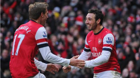 A Spanish Affair - Arsenal at last find a working partnership.